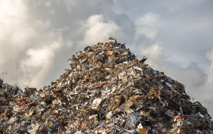 46177396 - heap of scrap iron